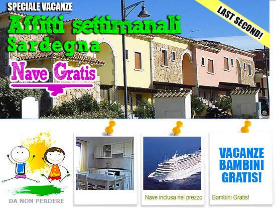 Offerte olbia con bambini promozione nave gratis bambini for Solo affitti olbia
